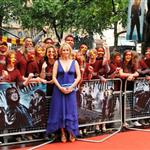 JK Rowling at the UK Premiere of Harry Potter and the Half Blood Prince 42805