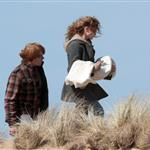 Daniel Radcliffe, Emma Watson and Rupert Grint continue shooting Harry Potter and the Deathly Hallows on the Pembrokeshire Coast Dobby scene 39021