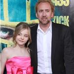Chloe Grace Moretz and Nicolas Cage at Kick-Ass LA premiere 58881