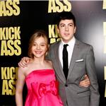 Chloe Grace Moretz and Christopher Mintz-Plasse at Kick-Ass LA premiere 58883