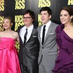The cast of Kick-Ass at the LA premiere 58885