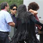Prince heads to soundcheck in Montreal  88467