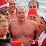Prince Albert attends the Swimming Christmas in Monaco 100963