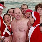 Prince Albert attends the Swimming Christmas in Monaco 100964