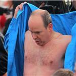 Prince Albert attends the Swimming Christmas in Monaco 100968