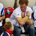 Prince Harry at the London 2012 Paralympic Games 124838