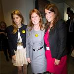 Princesses Beatrice and Eugenie and Sarah Ferguson attend BGC Charity Day 94146