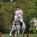 Prince Harry plays in the Audi Polo Challenge 114423