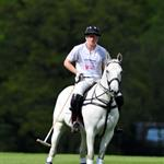 Prince Harry plays in the Audi Polo Challenge 114427