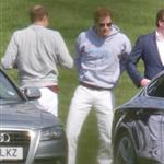 Prince Harry plays in the Audi Polo Challenge 114431
