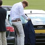 Prince Harry plays in the Audi Polo Challenge 114432