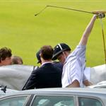 Prince Harry plays in the Audi Polo Challenge 114433