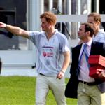 Prince Harry and Prince William play in the Audi Polo Challenge 114438
