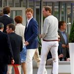 Prince Harry and Prince William play in the Audi Polo Challenge 114440