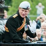 Prince Harry attends the 2012 Trooping the Colour ceremony at the Horse Guards Parade  117840