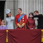 Prince Philip, Prince Harry, Princess Eugenie, Princess Beatrice, Catherine, Duchess of Cambridge and Prince William attend the 2012 Trooping the Colour ceremony at the Horse Guards Parade 117845