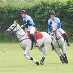 Prince William, Duke of Cambridge, and Prince Harry are seen playing a polo match in Gloucester Gloucestershire 117847