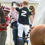 Prince Harry at the Golden Metropolitan Polo Club Charity Cup held at Beaufort Polo Club  117856