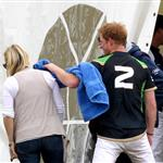 Prince Harry at the Golden Metropolitan Polo Club Charity Cup held at Beaufort Polo Club  117857