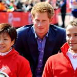Prince Harry at The 2012 Virgin London Marathon 112040