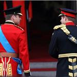Prince William and Prince Harry arrive for The Royal Wedding 112719