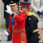 Prince William and Prince Harry arrive for The Royal Wedding 112720
