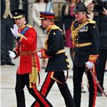 Prince William and Prince Harry arrive for The Royal Wedding 112725