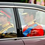 Prince William and Prince Harry arrive for The Royal Wedding 112729