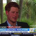 Prince Harry interviewed for The Jubilee Queen with Katie Couric 116122