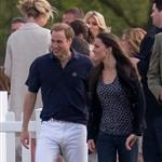 Prince Harry and Prince William play polo as Kate Middleton watches 38846