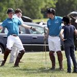 Prince Harry and Prince William play polo as Kate Middleton watches 38851