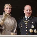 Princess Charlene and Prince Albert attend the National Day Parade as part of Monaco National Day Celebrations 98853