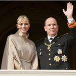 Princess Charlene and Prince Albert attend the National Day Parade as part of Monaco National Day Celebrations 98854