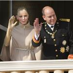Princess Charlene and Prince Albert attend the National Day Parade as part of Monaco National Day Celebrations 98856