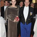 Prince Albert II of Monaco and Princess Charlene of Monaco arrive at the Monaco National day Gala concert  98868