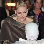 Princess Charlene of Monaco arrives at the Monaco National day Gala concert  98871