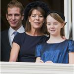 Andrea Casiraghi, Princess Caroline of Hanover and Princess Alexandra of Hanover attend the National Day Parade as part of Monaco National Day Celebrations 98875