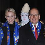 Princess Charlene of Monaco and Prince Albert II of Monaco attend the opening ceremony Monte-Carlo 36th International Circus Festival 103596