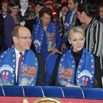 Princess Charlene of Monaco and Prince Albert II of Monaco attend the opening ceremony Monte-Carlo 36th International Circus Festival 103597