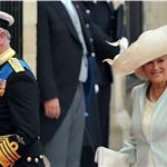 Prince Charles, Prince of Wales and Camilla, Duchess of Cornwall arrive for the Royal Wedding 84049