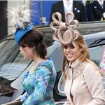 Princess Eugenie, Princess Beatrice arrive for the Royal Wedding 84054