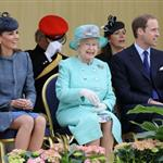 Queen Elizabeth II, Prince William and Catherine at The Old Market Square In Nottingham For Diamond Jubilee Visit 117425