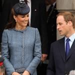 Queen Elizabeth II, Prince William and Catherine at The Old Market Square In Nottingham For Diamond Jubilee Visit 117434