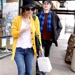 Hayden Christensen and Rachel Bilson in Malibu yesterday after lunch 34320