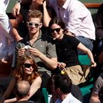 Hayden Christensen and Rachel Bilson attend the French Open in Lacoste 40101