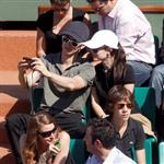 Hayden Christensen and Rachel Bilson attend the French Open in Lacoste 40103