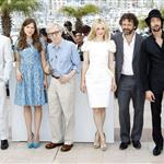 Rachel McAdams and cast of Midnight in Paris at photo call in Cannes 2011 85164
