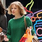 Rachel McAdams shoots About Time at Paddington Station  117693