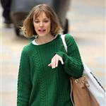Rachel McAdams shoots About Time at Paddington Station  117696