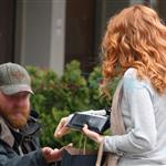 Rachelle Lefevre in Vancouver the other day 37285
